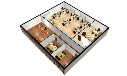 3D impressies CAD Visie